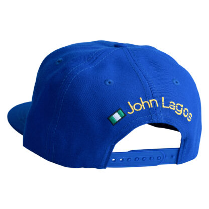 John Lagos Blue Journey Snapback