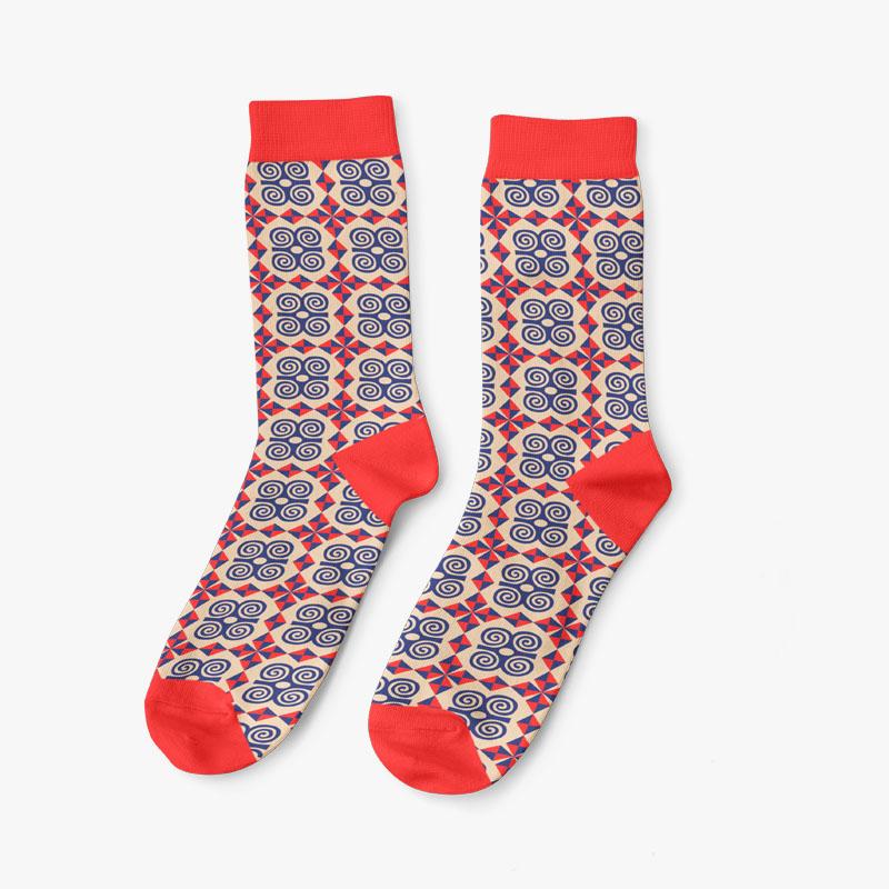 Adinkra Strength Socks for Men