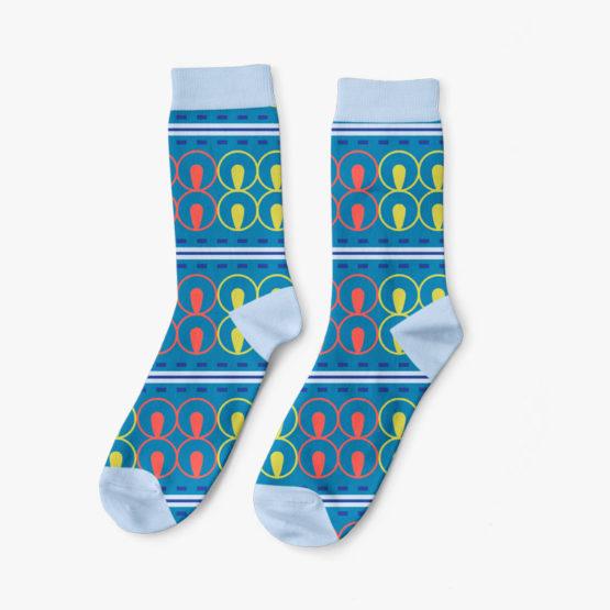 Adinkra Wisdom Socks for Men