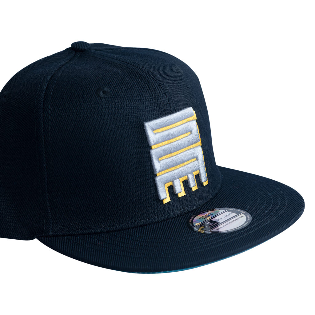 John Lagos Journey Snapback Hat - Black