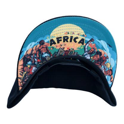 John Lagos Journey Snapback Hat - Black